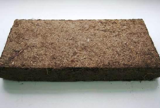теплоизоляционная плита из торфа