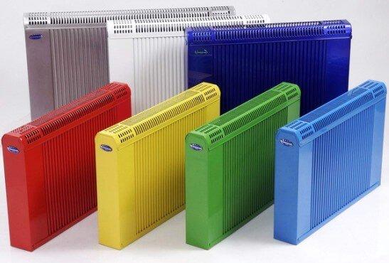 цветные радиаторы отопления