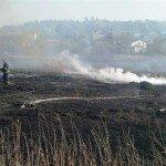 В Олевском районе спасатели патрулируют торфяник